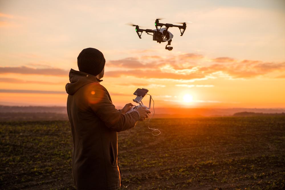 Riprese aeree con drone in sicilia